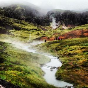 Villibað í Reykjadal með Ferðafélagi barnanna